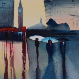 Trafalgar at Dawn