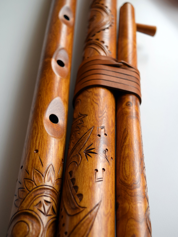 fujara carvings